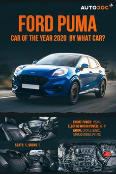 Ford unveiled the new Ford Puma – an SUV-inspired compact crossover that fuses stunning exterior design, best-in-class uncompromised load space, and sophisticated mild-hybrid powertrain technology.