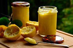 Crema de limón baja en calorías