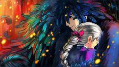 Howl and Sophie artwork by Artist: Yuuza More on: https://www.facebook.com/YuuzaArt