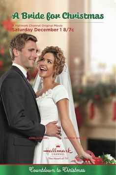 A Bride for Christmas. A buyer said I remind her of the actress in this movie! See it on the Hallmark Channel starting in Novemeber, not on dvd. Films Hallmark, Hallmark Holiday Movies, Hallmark Weihnachtsfilme, Hallmark Movie Channel, Great Christmas Movies, Xmas Movies, Family Movies, Great Movies, Christmas Poster