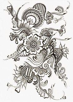 maori_tattoo maori_maori tattoo_ tattoo_polinésia_tribal Source by . - maori_tattoo maori_maori tattoo_ Tatuagem_polinésia_tribal Source by - Zentangle Drawings, Doodles Zentangles, Zentangle Patterns, Doodle Drawings, Henna Patterns, Henna Tatoos, Maori Tattoos, Nice Tattoos, Feminine Tattoos