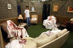 halloween diy haunted house - Buscar con Google