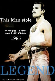 Freddie Mercury: The Legend Who Stole Live Aid 1985 Queen Freddie Mercury, Freddie Mercury Quotes, Rami Malek Freddie Mercury, Freddie Mercury Zitate, Rock Bands, Freedy Mercury, Live Aid, Roger Taylor, Queen Love