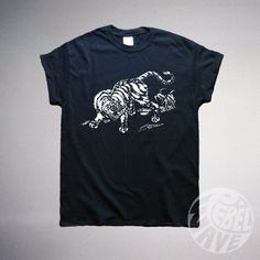 Hey, I found this really awesome Etsy listing at https://www.etsy.com/uk/listing/208719844/japanese-jungle-tshirt-screen-printed