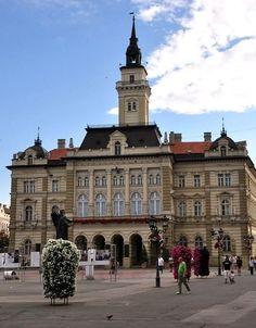 City Hall of Novi Sad, Vojvodina, Serbia