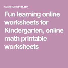 Fun learning online worksheets for Kindergarten, online english printable worksheets Math Subtraction Worksheets, Preschool Phonics, English Worksheets For Kindergarten, Phonics Worksheets, Printable Worksheets, Lkg Worksheets, Shapes Worksheets, Tracing Worksheets, Printables