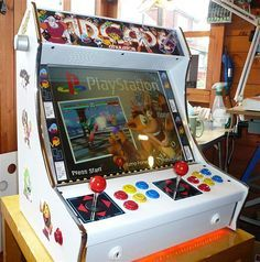 We've seen a handful of tiny arcade machines, but Tiny Arcade Machines is way better. It's a shop owned by YouTuber dabarduba, an electronics engineer in the UK. He makes compact arcade machines that fit on your desktop or bar counter.