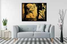 Excited to share the latest addition to my shop: Vintage italian statues in gold and black, Living room wall art, Extra large print, Modern home decor Gold Wall Art, Gold Art, Italian Statues, Travel City, Gold Walls, City Architecture, Red Accents, Vintage Italian, Poster Wall