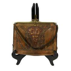 '20s Jemco Tooled Leather Purse