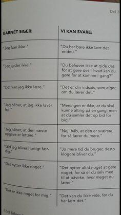 Ting man kan svare til barnet. Cooperative Learning Activities, Toddler Activities, Danish Language, Wierd Facts, Coaching, Working With Children, School Hacks, Primary School, Social Skills