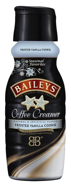 You already dip sugar cookies in coffee, so this just takes things to the next level (and spares you from turning on the oven). If the Bailey's branding has you doing a double take, let us clear things up—there's no alcohol in this creamer ... though that doesn't mean you can't do it.   - CountryLiving.com