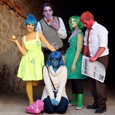 I'm Overcome With Emotion About This 'Inside Out' Group Cosplay