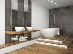 JIS Europe Ltd: Lindfield flat front stainless steel heated towel rail 2 of 4 Kitchen Mosaic, Mosaic Bathroom, Mosaic Tiles, Mosaics, Mosaic Artwork, Heated Towel Rail, Mosaic Designs, Bathroom Interior Design, Minimalist Home