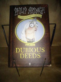 "Dubious Deeds: Eddie Dickens by Philip Ardagh Check out the new ""Collectables"" section @Wendy Werley-Williams.thedog-earedbookbook.com. Many more collectable, signed first editions."