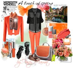 """""""Touch of spring"""" by fancymarot on Polyvore"""