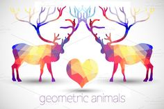 Check out Geometric Animals on Creative Market.