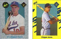Chipper Jones: 1990 Baseball cards « The Braves Baseball History