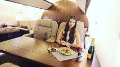 Russian photo studio lets you snap photos on a private jet for the Instagram likes #privatejet