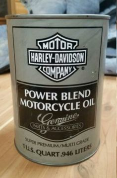 Harley Davidon Power Blend Motorcycle Oil