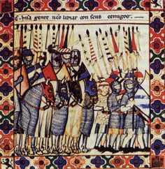 Panel 1 of Cantiga 129 of the Cantigas de Santa Maria of Alfonso X  The Soldier…