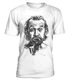 George Carlin Face | Teezily | Buy, Create & Sell T-shirts to turn your ideas into reality
