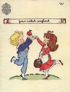 Joan Walsh Anglund Gloria & Pat X-Stitch Pattern Book