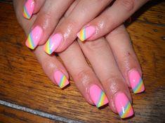 rainbow - Nail Art Gallery by NAILS Magazine