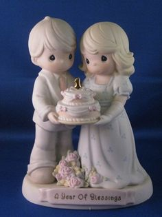 A Year Of Blessings - Precious Moment Figurine