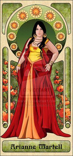 arianne martell by tfilipova.deviantart.com on @deviantART