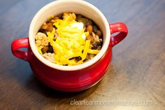 Turkey Black Bean Chili #glutenfree www.cleanleanmommymachine.com