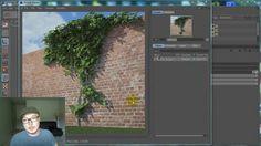 "www.vrayforc4d-training.com Ivy Grower is a FREE plugin for C4D and here is some tips on how you can use it in order to create realistic looking ""climbing plant"" simulation."