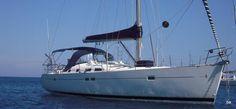 #Vacanze in barca a vela Oceanis Clipper 473 da #Roma. 3 Cabine, 2 Bagni, 6 posti letto, Portata massima 12 persone. Prezzo: 270.00 € a persona (4 giorni)!