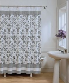 Toile Fabric Shower Curtain review | buy, shop with friends, sale | Kaboodle