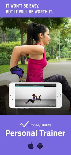 Stop spending your valuable time searching for workouts… Get in shape faster using Personal Trainer's progress and calories burned tracking. Keep it fresh with new beginner and easy workout videos updated weekly! #trackmyfitness
