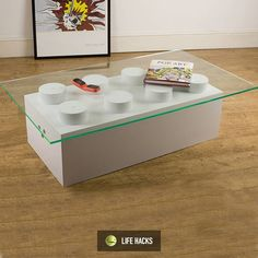 Awesome lego coffee table