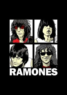 Ramones Band Poster Art Print by SundayDogParade on Etsy Rock Posters, Band Posters, Concert Posters, Joey Ramone, Punk Rock, Historia Do Rock, Beatles Albums, Heavy Metal Art, Hip Hop Art