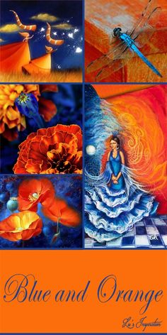 """Hi Ladies.Tonight's color board is """" BLUE AND ORANGE """" After tonight I will be away for a week.. Please look for Lynn's lead pin as the board color will not be changed in the description. Thank you so much for all the great pins and have a good week. ❤"""
