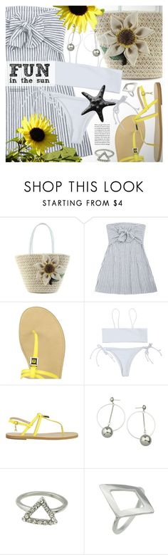 """Fun in the sun"" by vn1ta ❤ liked on Polyvore featuring Patrizia Pepe"