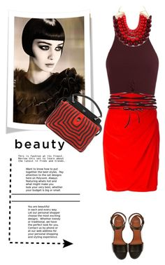 """""""Beauty"""" by gul07 ❤ liked on Polyvore featuring Versace, Givenchy and Fendi"""