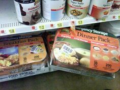 Dooms Day Prep: Dry Foods at Walmart last for 30 years