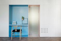 // When Color Meets Calm - Tel Aviv-Yafo / Israel / 2014 by Maayan Zusman Interior Design. Photo: Gidon Levin -181 Architecture Photography