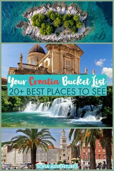 Planning an epic Croatia tip? This guide to where to go in Croatia will help you plan all the best places to visit in Croatia. Full of Croatia destination ideas to pack your Croatia itinerary full of islands, culture, art, food, and more! Croatia Itinerary, Croatia Travel, Cool Places To Visit, Places To Travel, Krka National Park, Visit Croatia, Dubrovnik Croatia, Filming Locations, Where To Go