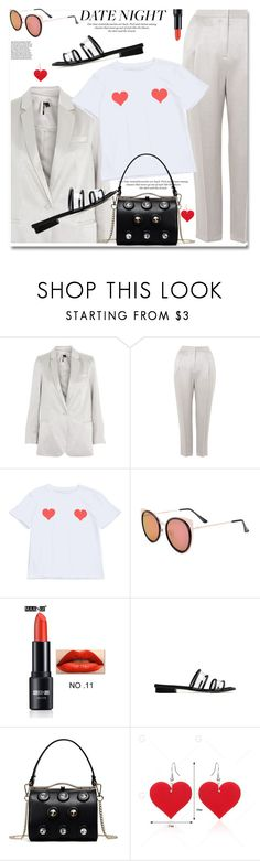 """""""Summer Date Night"""" by paculi ❤ liked on Polyvore featuring Topshop, H&M and summerdatenight"""