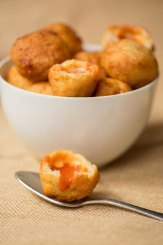 Grilled Cheese Tomato Soup Dumplings — oh holy crap, yes.