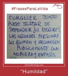 #8 #Humildad