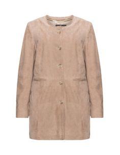 4-pocket long leather jacket by Verpass. Shop now: http://www.navabi.us/jackets-verpass-4-pocket-long-leather-jacket-sand-30494-8200.html?utm_source=pinterest&utm_medium=social-media&utm_campaign=pin-it