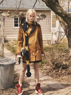 """EDITORIAL Interview Magazine June/July 2014 """"Americana"""" by Mikael Jansson"""