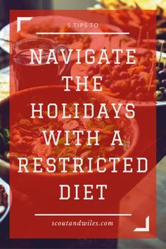 Navigate the Holidays with a Restricted Diet