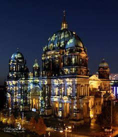 Cathedral of Berlin / Festival of Lights