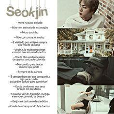 Seokjin, Bts Namjoon, Bts Jin, Bts Bangtan Boy, Fanfic Kpop, Bts Fanfiction, Foto Bts, Imagine Jin, Bts Love Yourself
